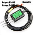 Free shipping New 1pc 0 100 Soil sensors RS485 output soil moisture sensor humidity sensor quality