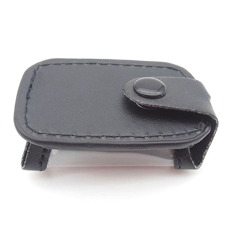 Free shipping A9 leather case for russian version starline A9/A8 LCD two way car alarm system new remote control(China (Mainland))