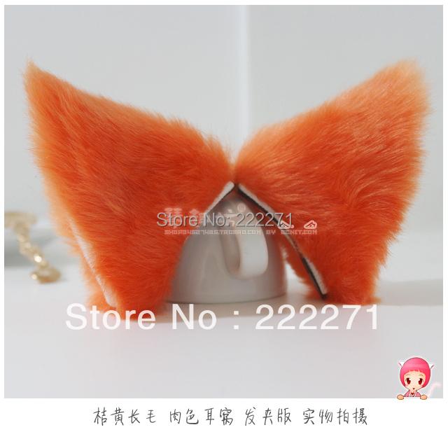 Fox Ears With Hair Clip