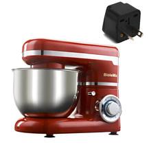 6-speed led 4l tigela de aço inoxidável 1200 w cozinha suporte de alimentos misturador creme batedor de ovo chicote massa amassar misturador liquidificador máquina(China)