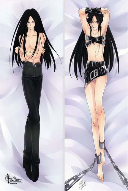 Free Shipping Anime Dakimakura hugging pillow case: Yu Yu Hakusho, Ya -20130425