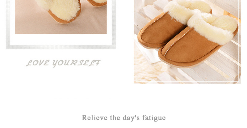 New Arrival 2016 Women Shoes Fashion Indoor Warm Wool Slippers Women Men High Quality Home Shoes for Ladies Pantufas
