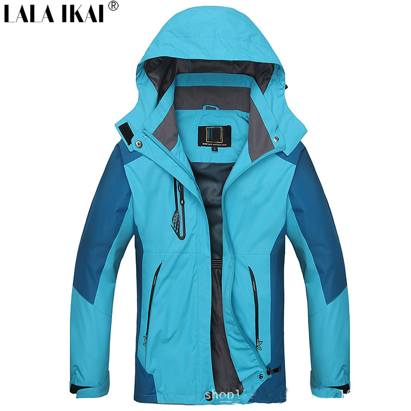 waterproof jacket women outdoor camping hiking jacket windstopper breathable women climbing jacket brand sport jacket HWA0024-5(China (Mainland))