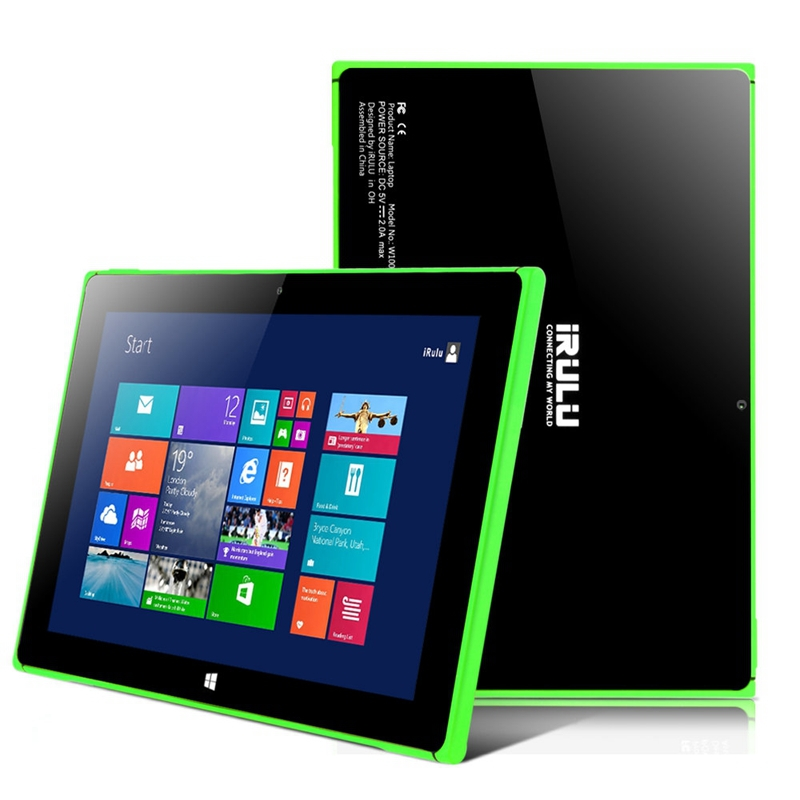 IRULU 10 1 Tablet PC W10 Windows 8 1 2G 32GB Intel CPU Laptop Quad Core