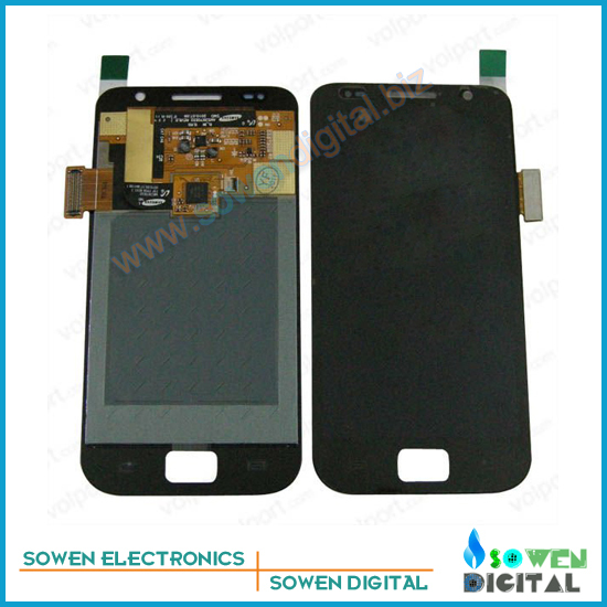 LCD Screen with Touch Screen for Samsung Galaxy S Plus i9001 i9000 Full Set with open tools,black and white,Free Shipping