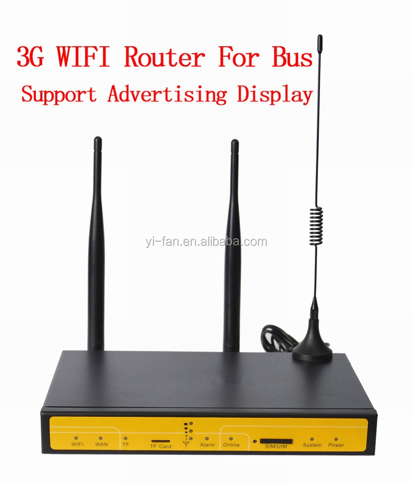 Free Shipping Support TF card local storage 3G Router WIFI BUS(China (Mainland))