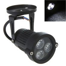 220V 3W Outdoor IP67 Waterproof LED Lawn Light Lamps Warm White/White Spotlight Bulb For Garden Park Lighting(China (Mainland))