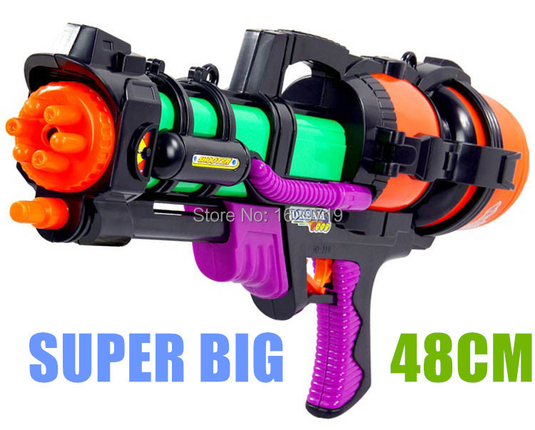 Big Water Gun 48cm High Pressure Pump Action  Perfect Summer Outdoor Fun &amp; Sports Game Shooting Toys sniper nerf Water Bullet<br><br>Aliexpress