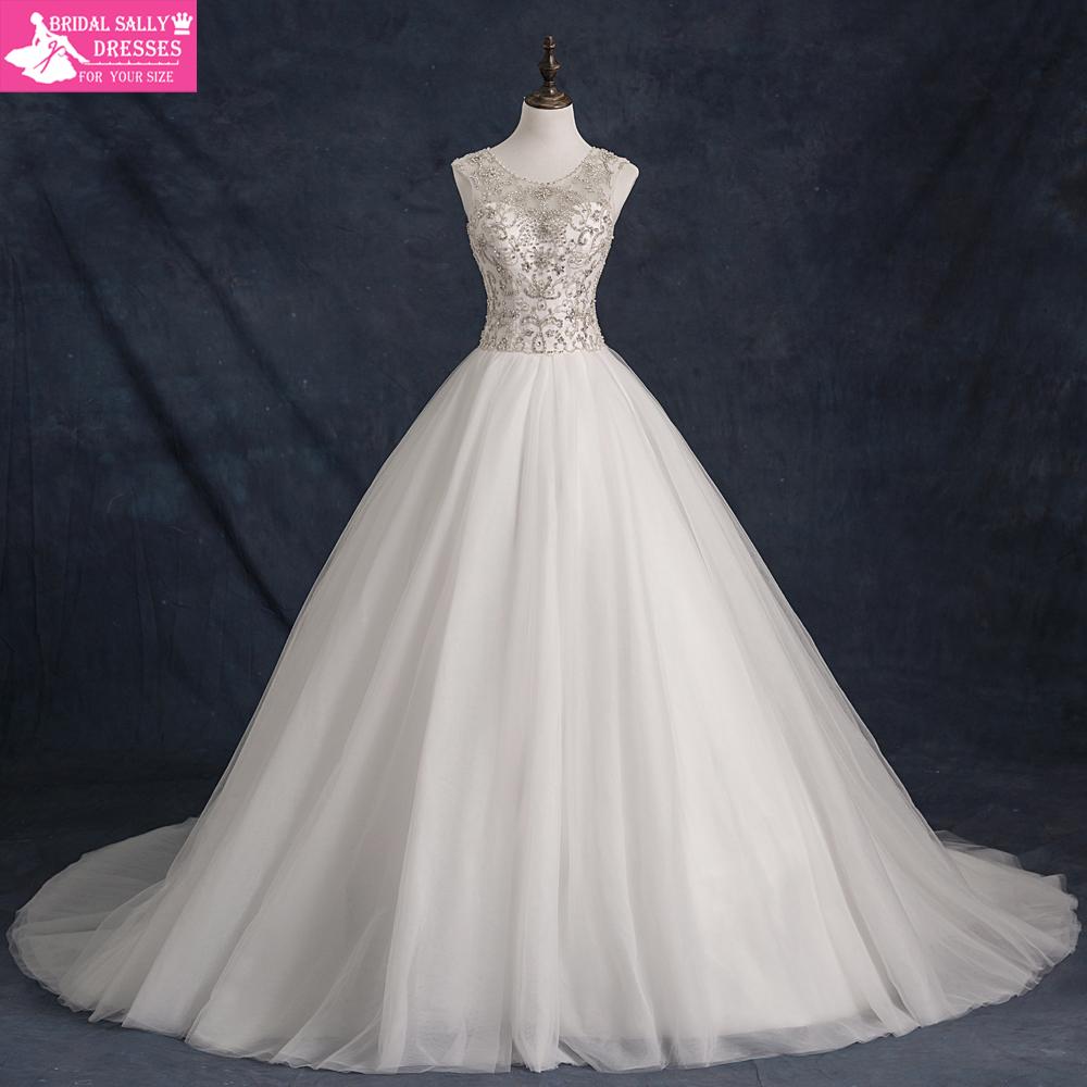 Robe De Mariee Luxury Beading Wedding Gowns Vintage Wedding Dress Vestidos De Noivas Princesa