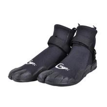 Yon alt erkek kadın neopren dalış botları kaymaz çabuk kuruyan sörf ayakkabı dalış sığ su cilt ayakkabı siyah(China)