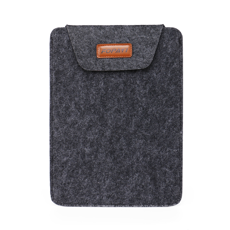 Free Shipping 13.3-inch Thin, Durable Flat Panel Multicolor Felt Sleeve Laptop Bag for Apple Macbook(China (Mainland))