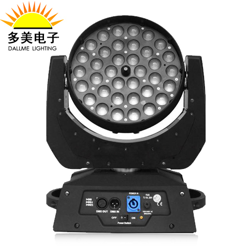 2015 Hot 36PCS 10W RGBW 4in1 Led Wash Moving Head Zoom Led Moving Head Wash 36x10W DMX Stage Lighting For DJ Wedding And Events(China (Mainland))