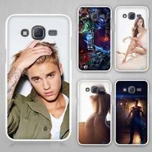 justin bieber music singer Hard White Case Cover Samsung Galaxy J1 J2 J3 J5 J7 C5 C7 C9 E5 E7 2016 - Madivan store