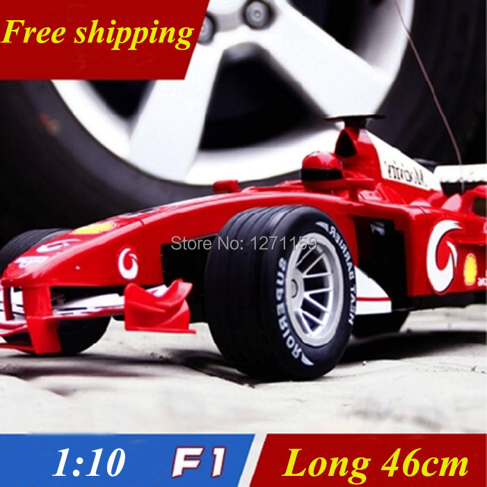 1:10 F1 racing Gun-type remote control 44cm super large remote control car can drift Luxury toys(China (Mainland))