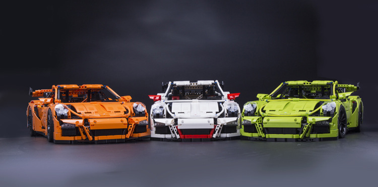 LEPING 20001 technic series 911 GT3 RS Model Building Kits Minifigures DIY Blocks Bricks Boy Toys Compatible 42056 gift  -  Teng Can e-commerce LTD store