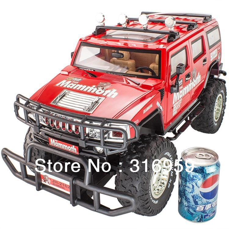 Ultra Large RC Car H3 1:8 Scale Simulation Military Hummer Car Remote Control Humvee Off-Road Vehicle Toys Car(China (Mainland))