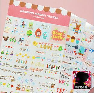 Lovely Transparent Catalog Labels Scrapbooking