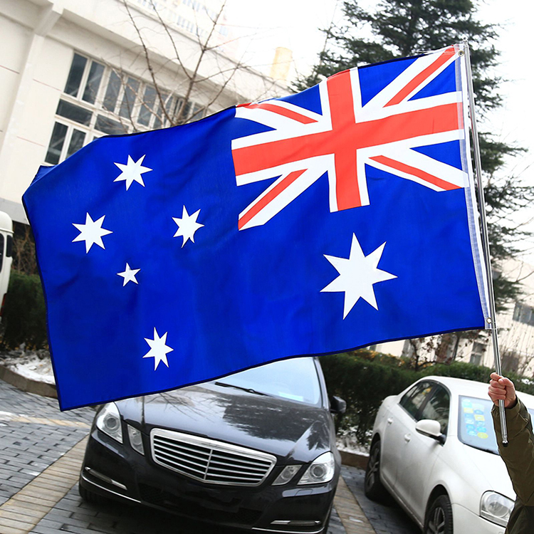 AUSTRALIA AUSSIE AUSTRALIAN FLAG LARGE 5 x 3FT SUPPORTERS ASHES RUGBY WORLD CUP(China (Mainland))