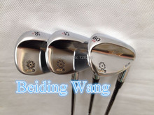 2014 New Sale Golf SM5 Wedge 52  . 56 . 60 Golf Wedge With Steel Shaft Golf Clubs 3PCS(China (Mainland))