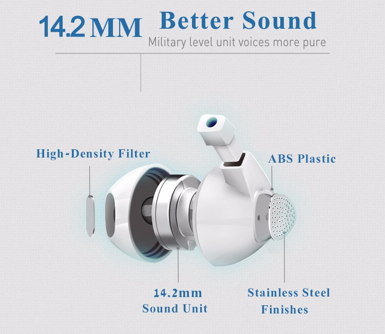 EZ PTM Brand IM500 Original Headphones Earpods Earphone Airpods Bass Headset with Microphone for iPhone 5 6 6s 6plus