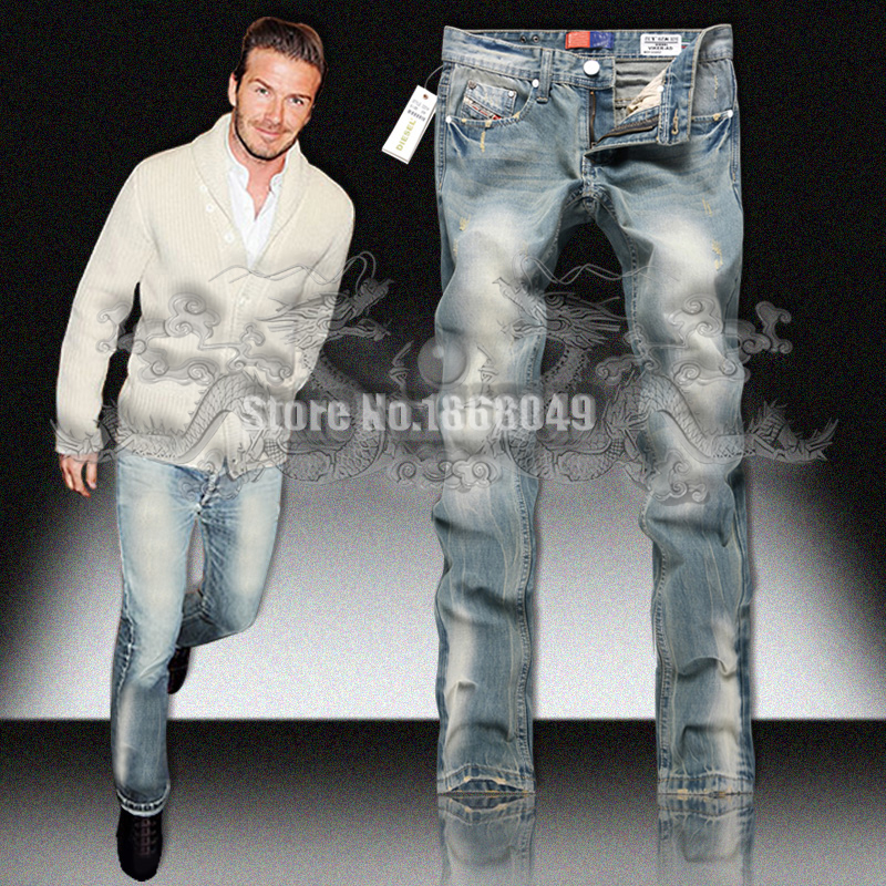 2015 New Design Man Jean Free Shipping Light Blue High Quality Men's Cotton Denim Jeans for Men Famous Brand Fashion Jeans 28-40(China (Mainland))