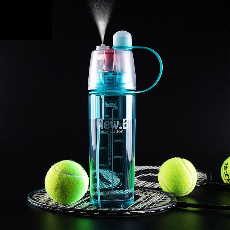 Hoomall Brand Sport Climbing Plastic Water Bottle 400ml/600ml PC Straw Bottle New Design Sport Sprayer Bottles Cup(China (Mainland))