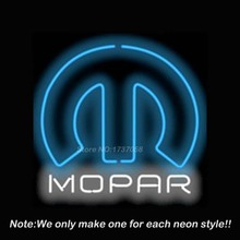 5MPROM Car and Motorcycles Mopar Neon Sign Bright Neon Bulbs Custom Design Great Gift Real Glass Tube Handcraft Beer Pub 24x24(China (Mainland))