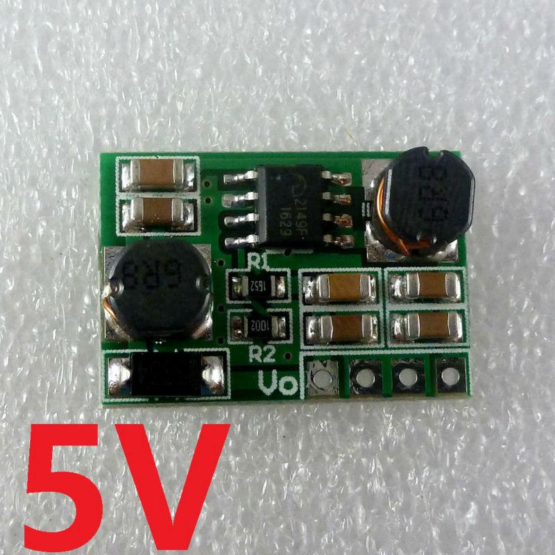 DD0603SB_5V 2 in 1 Auto Boost-Buck 1-6V to 5V DC DC Converter module for YUN Pro mini MEGA2560 raspberry pi 3(China (Mainland))