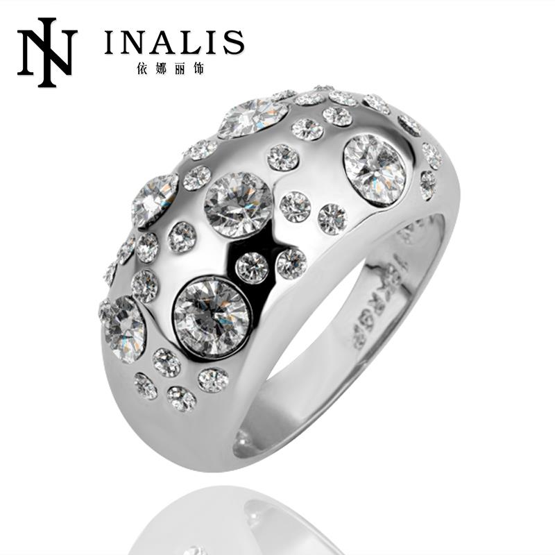 R088 Engagement Rings Women Bague Accesorios New Fashion Jewelry 18K Gold Plated Ring - SSOS store