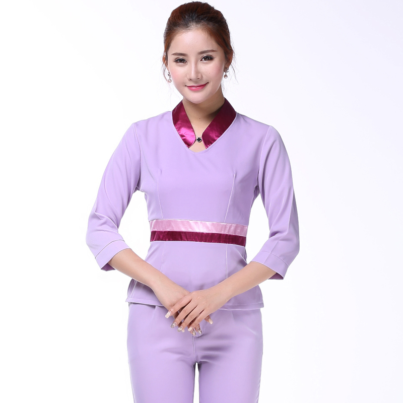 Salon wear koop goedkope salon wear loten van chinese for Spa uniform indonesia