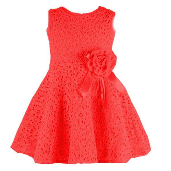 Гаджет  Fashion Kids Girls Toddler Baby Lace Princess Party Dresses Clothes 2-7Y None Детские товары