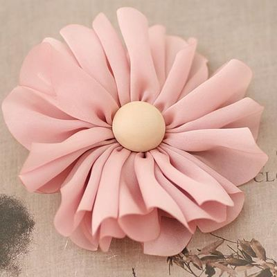Summer Hair Accessories Chiffon Daisy Flower Barrette African Daisy Hair Clip(China (Mainland))