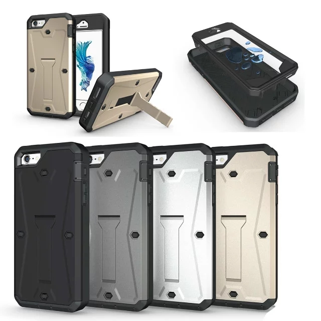 Hot Sale Kickstand For iphone 5G 5S SE Cover Dual Layer Defender Heavy Duty Armor Hybrid Phone Cases For iphone SE(China (Mainland))