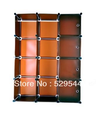 On Sale Wholesale DIY Wardrobe simple wardrobe combination folding wardrobe steelframe Reinforce the folding closet