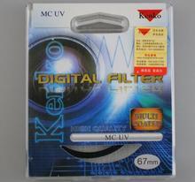 KENKO Digital UV FILTER FOR camera 49/52/55/58/62/67/72/77/82mm camera lens filter for canon nikon sonty DSLR camera free ship(China (Mainland))