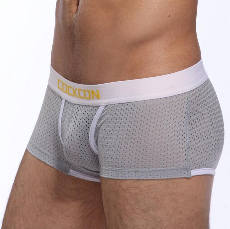 Cockcon Male panties boxers comfortable breathable men boxer men s panties underwear trunk brand shorts man