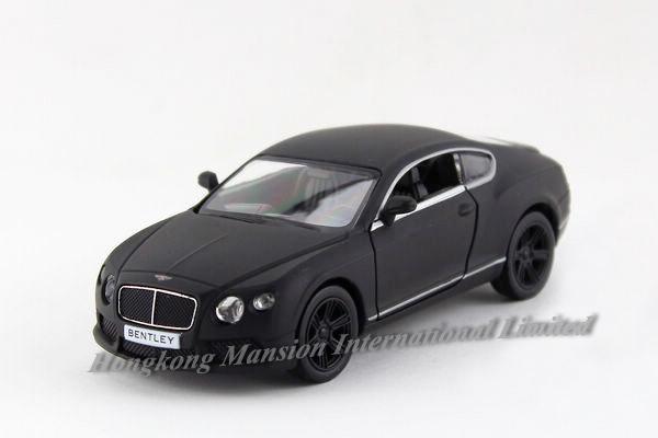 136 Matte Black Car Model For Bentley Continental GT (3)