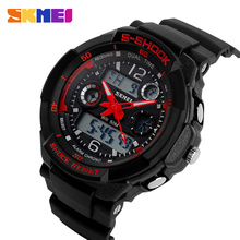 Skmei Children Sports Watches S SHOCK Military Fashion Casual Quartz Digital Watch Boys Wristwatches Relogio Masculino AD1060(China (Mainland))