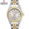CHENXI Women Golden Silver Classic Quartz Watch Female Elegant Clock Luxury Gift Watches Ladies Waterproof Wristwatch