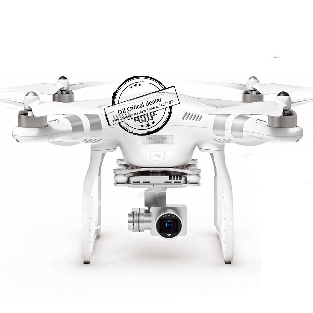 100% Original DJI Phantom 3 Professional/Advanced With 3-Axis Gimbal Camera Free Shipping