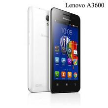 Original Lenovo A3600 A3600d 4G fdd lte Smartphones 512RAM 4GB ROM Quad Core MT6582 1700mah 4.5 inch 5MP(China (Mainland))