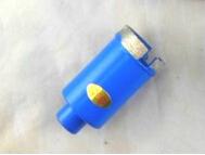 Envío gratis de alta calidad 1 unid diamond wet mármol agujero consideró core bits 25 mm M10 interno roscado para mármol / perforación de hormigón