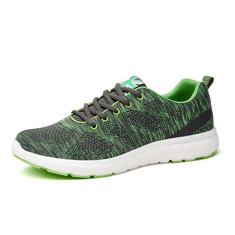 2016 Original Running Shoes For Man Summer/Autumn Brand Sport Shoes Mens Blue/Green Mens Trainers Cheap Sports Footwear(China (Mainland))