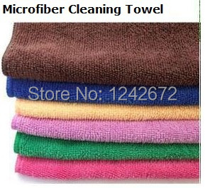10pcs 60*160cm Microfiber Polishing Cleaning Towels Glass Stainless Steel Shine Cloth Window Windshield cloth free shipping(China (Mainland))