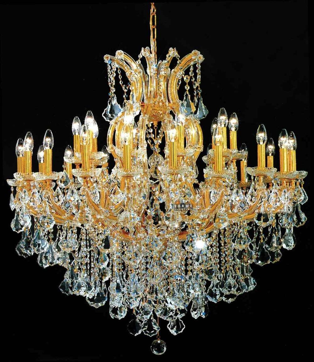 Crystal Chandelier Sale: Chic Gold Chandelier Lamp,crystal Chandelier Living Room