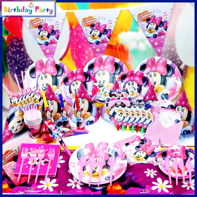 Minnie Mouse Birthday Decorations For Sale Image Inspiration of
