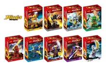 Wholesale Decool 10sets Building Blocks Super Heroes Ninja Minifigures Justice League Hat Jay Mater Chan Pythor Mini Figures