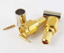 2SMA connector SMA-J3 male pin cable RG58 RG400 50-3 AP RG142 lines, extension cord - HANDSKIT store