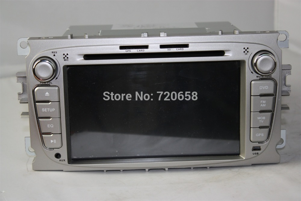 2015 2Din HD Silver or Black Panel Auto Android 4.4.2  DVD GPS Car PC For  Focus 2008 2009 2010  With DVR OBD WiFi 3G + Canbus<br><br>Aliexpress