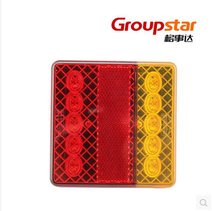 12v LED taillights special fire truck trailer turn signal lights taillights card professional manufacturer of brake lights down(China (Mainland))